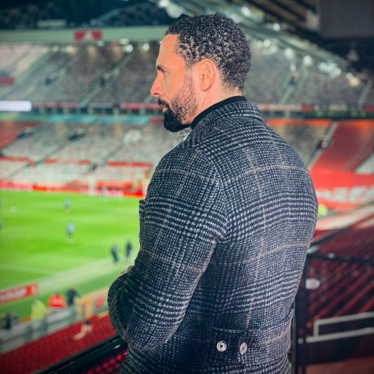 Blessed to be breathing in the Old Trafford air like the old days!  #mufc 📸 @jakehumphrey