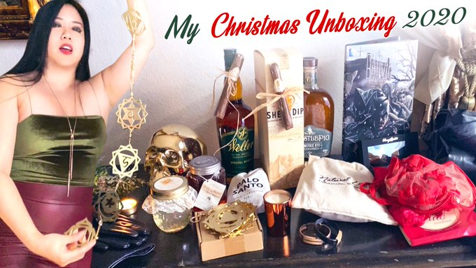 So eternally grateful to those who really make My life abundant - new 2020 Christmas Gifts Unboxing on