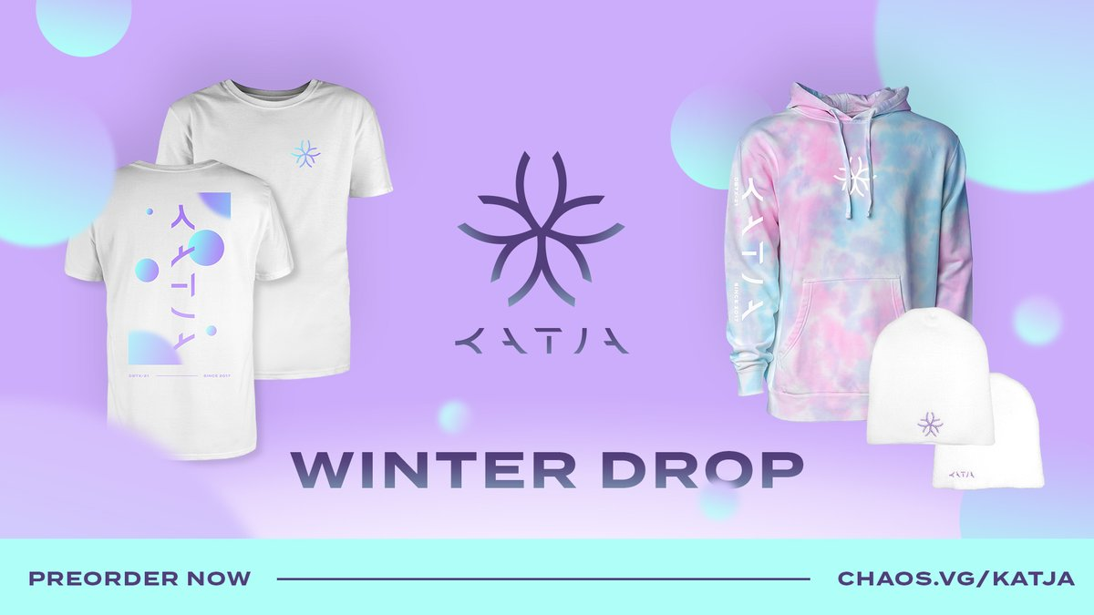Katja - So happy with my first proper rebrand and merch! 🥰