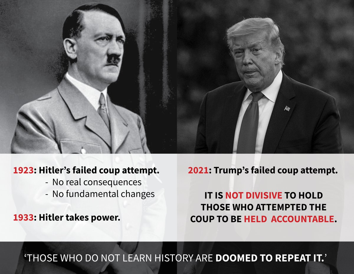 'Those who do not learn history are doomed to repeat it.'  #TrumpBanned #CapitolRiots #Trump #GOP #impeachment