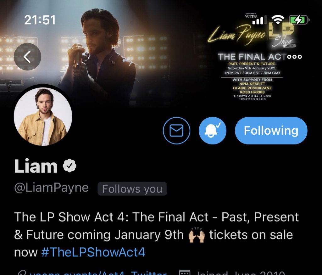 @LiamPayne y'all want me to help with Liam follow  imma send to him some usernames @  #LPFinalAct  RT & Follow me