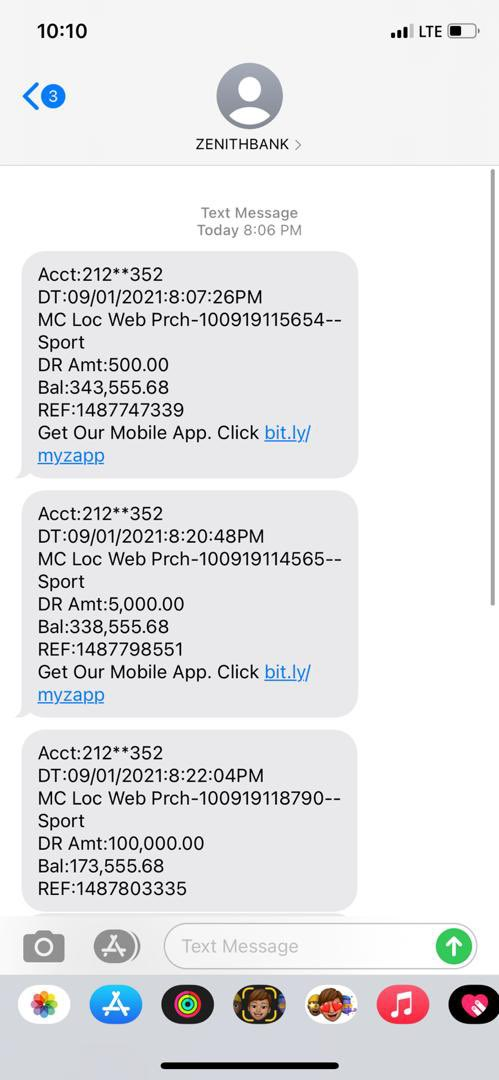 😭😭😭😭My brother went to UBA bank to open an account then they asked him to bring another person's BVN number for back up, I went there 2 confirm , they said yes, so I tendered my bvn number , then did evening my account was cleared 400,000 naira gone😭😭😭😭😭😭 @UBAFoundation