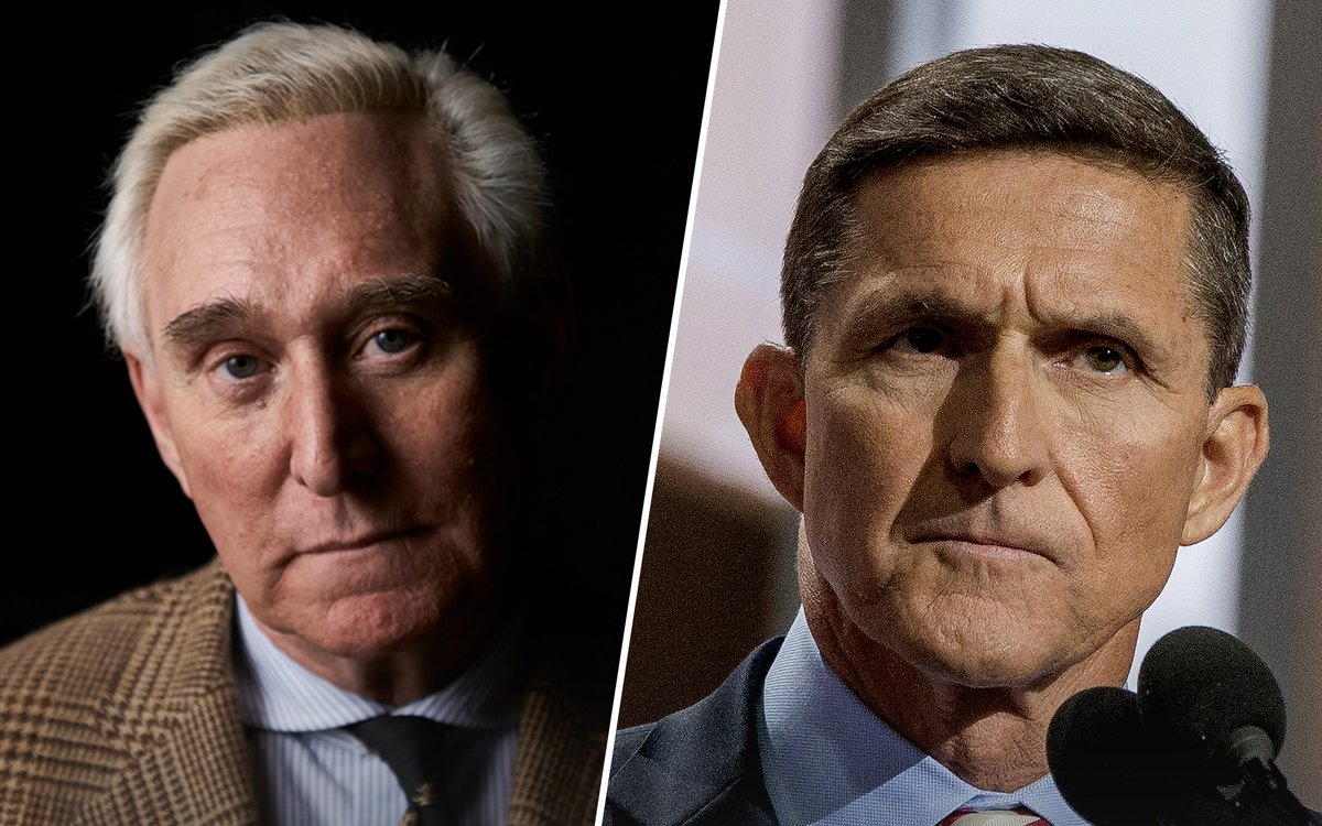 Fun fact: if Roger Stone and Mike Flynn are linked to the coup conspiracy, their pardons are quite likely invalid if they were issued in furtherance of a criminal act.