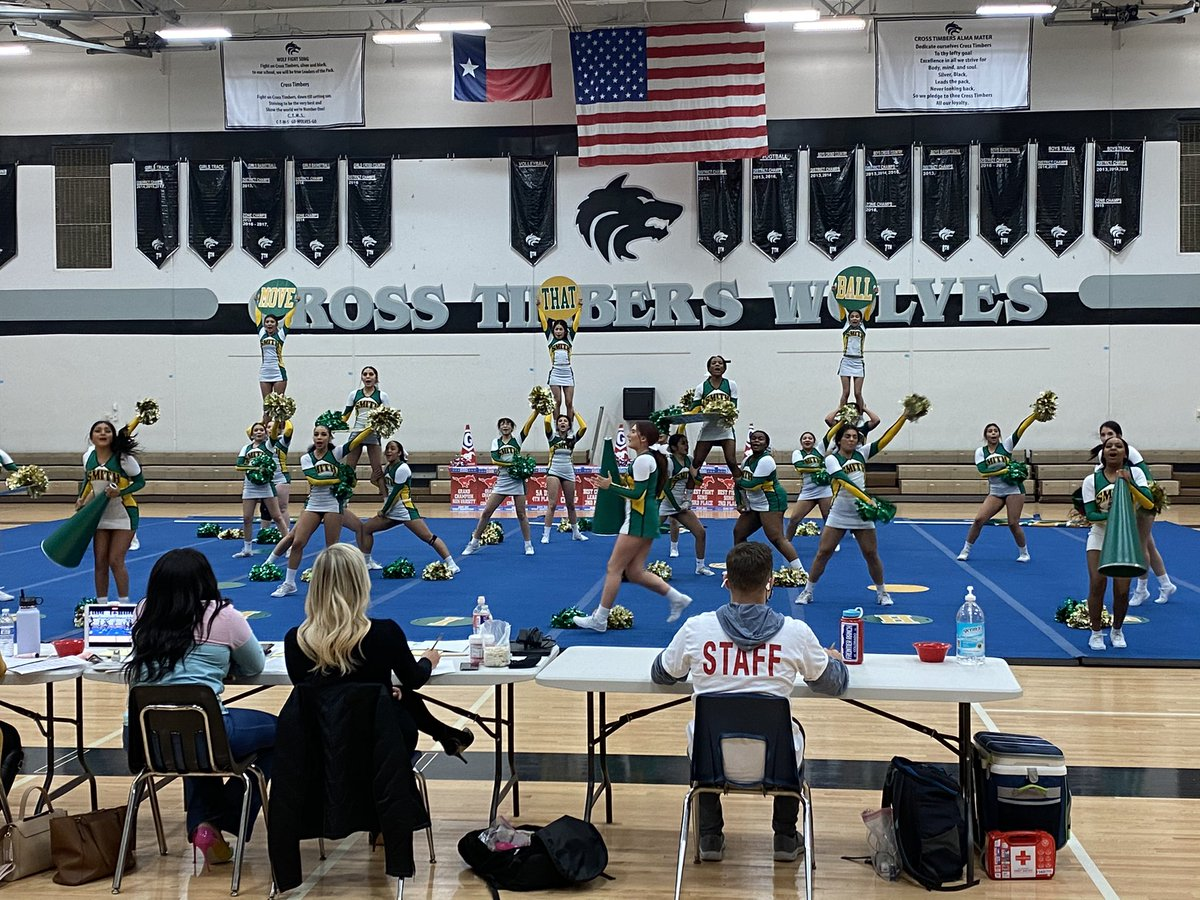 Great performance @NewmanSmithHS cheer at the Mustang Invitational! @mrssjimenez #cfbisd @CFBISD