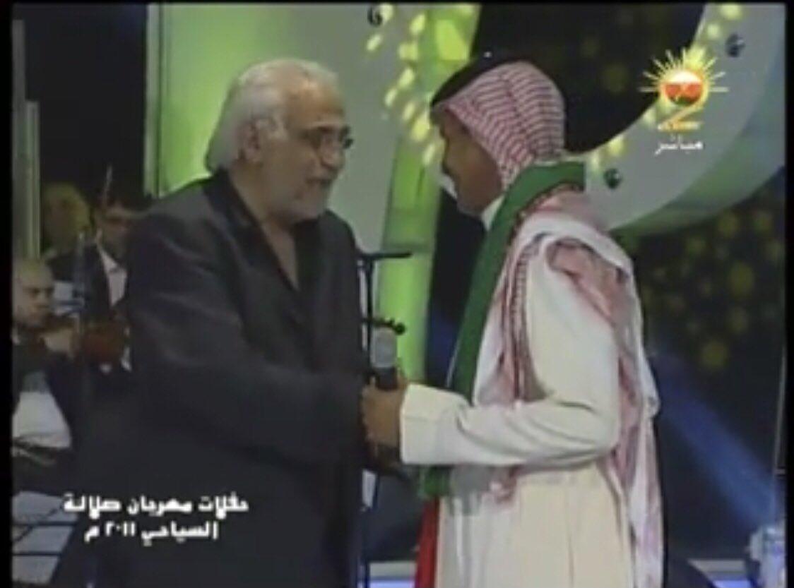 #خالد_فؤاد الله يرحمه ويغفرله .. صورة تجمعه مع ابونايف في حفلة صلالة