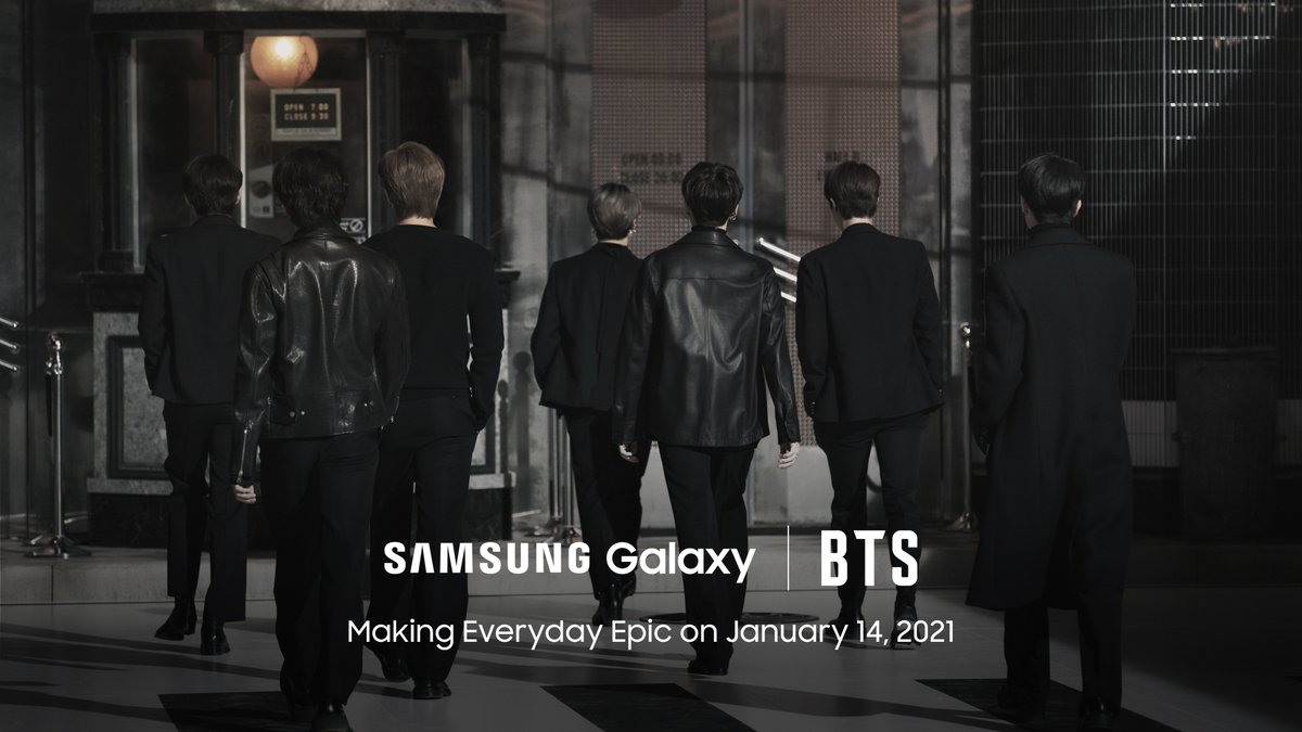 What can we say? It's gonna be epic. 😉 Tune in to #SamsungUnpacked, January 14, at  #GalaxyxBTS