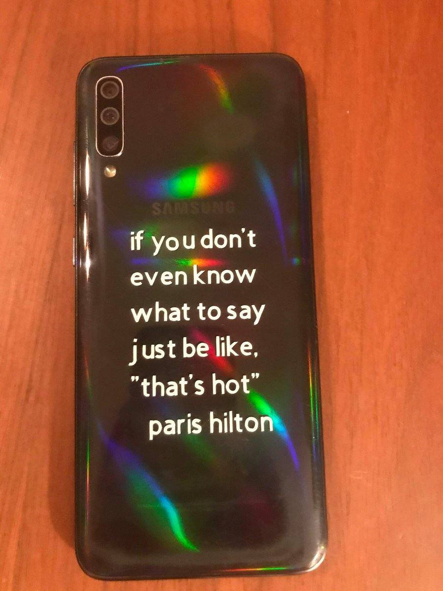 just got my bestie to print this on her cricut for me @ParisHilton