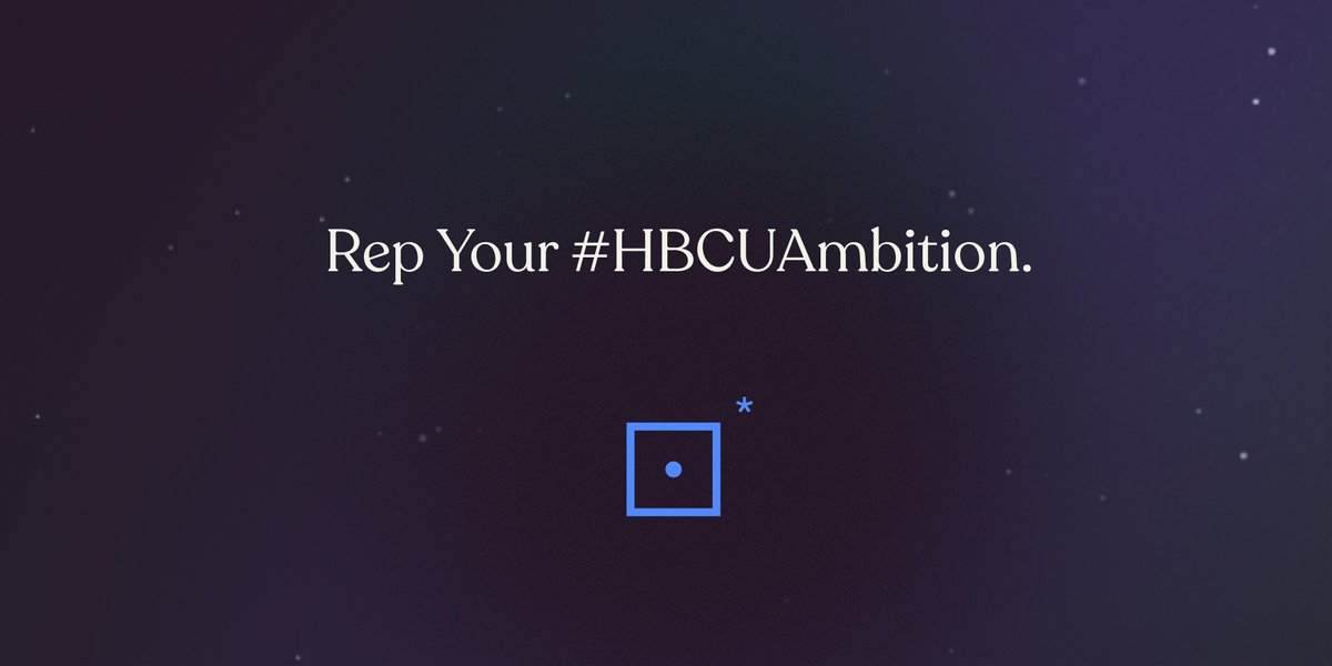 Introducing: the #HBCUAmbition Challenge. Share a pic of you repping your HBCU school pride while pursuing your ambitions on Instagram, and tag #HBCUAmbition and @blackambitionprize. We'll share our favs on our Stories all week!
