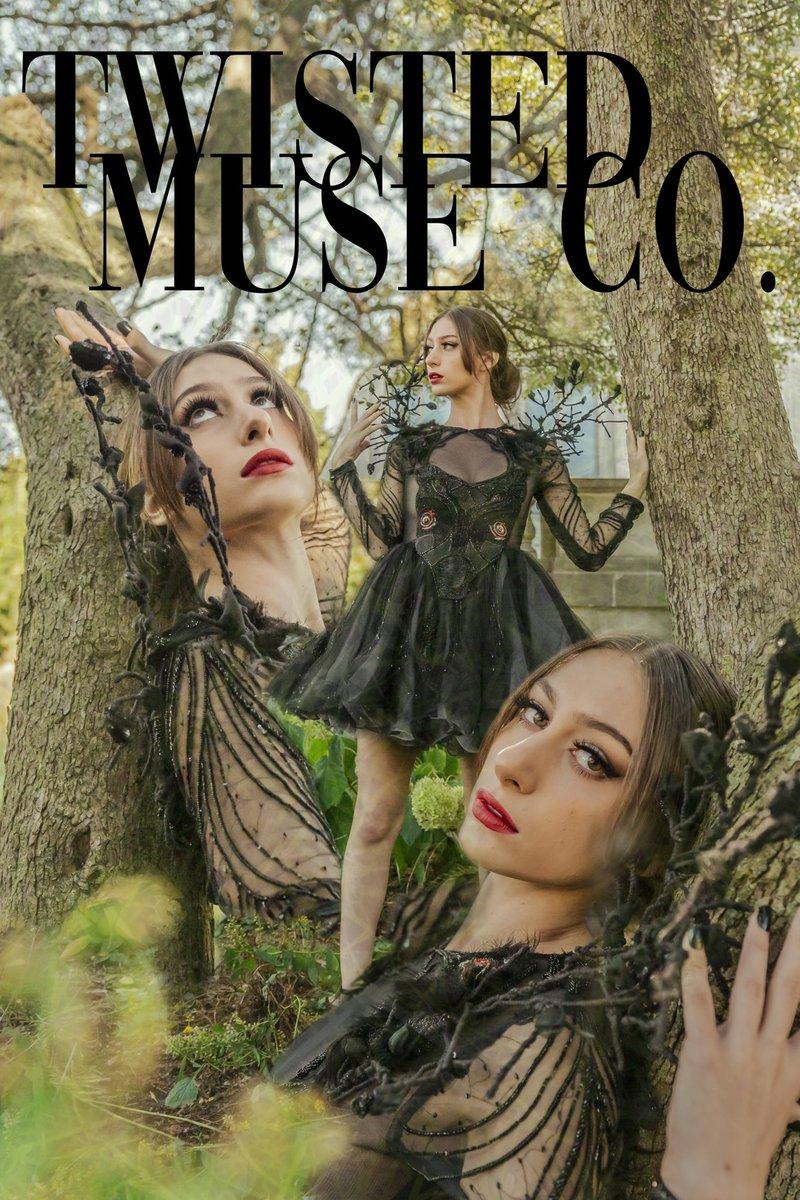 Such a fun collaboration series! . Fashion Designer - Raj Patel Photographer - Anyssa Camacho - Twisted Muse co. Graphic Design - Anyssa Camacho . #Artist #photographer #GraphicDesign #photoshop #Chicago