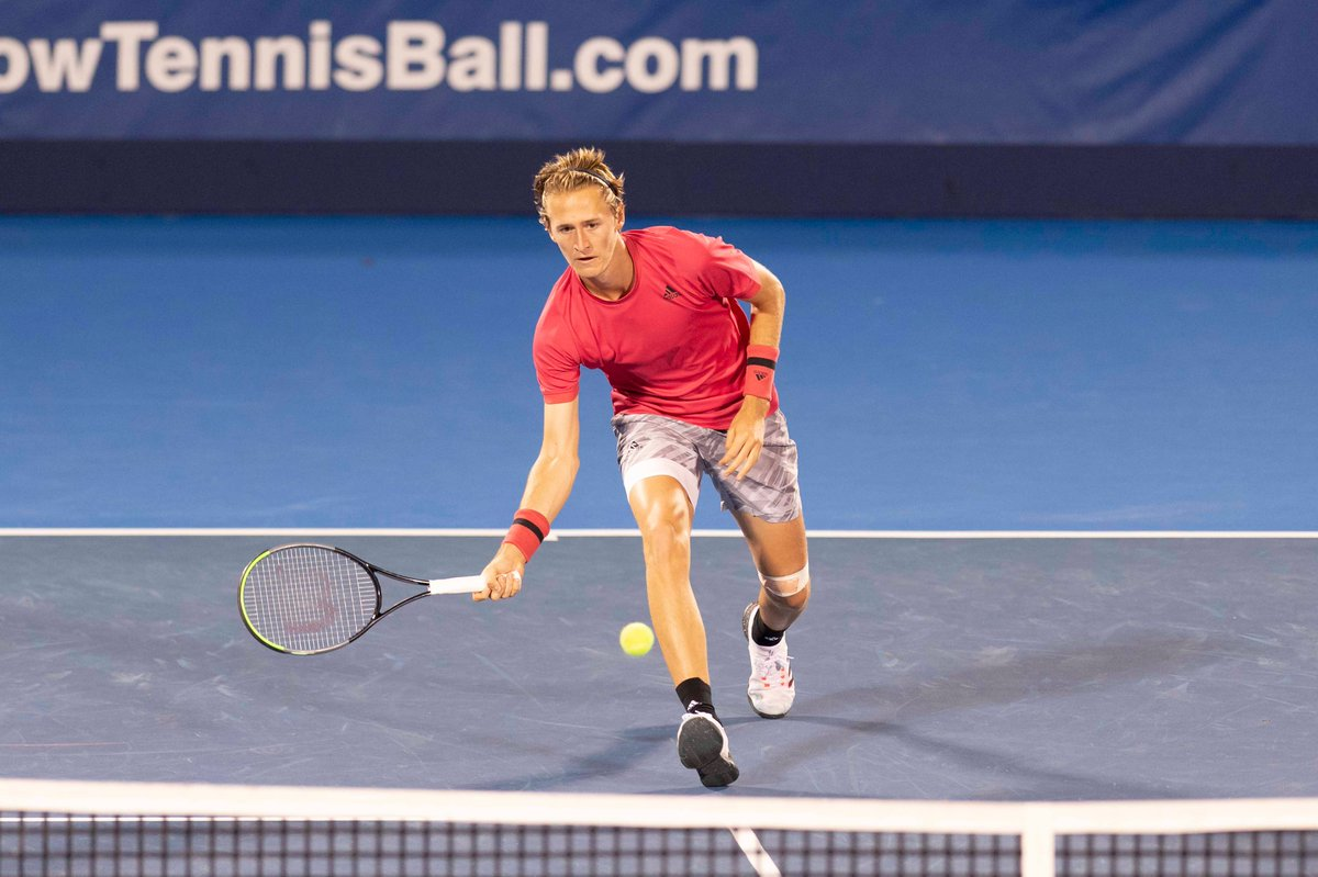 Sebastian Korda is on his way to his first ever quarterfinal as he eliminates Tommy Paul 4-6, 6-3, 6-2.  #DBOpen | @SebiKorda https://t.co/3CpMrBXWJU