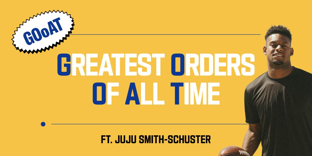 .@TeamJuJu is playing tomorrow and before he hits the field, we asked him about his dream gameday foods. Only one of these made his list. Which one do you think it is? If you guess right, we might hook you up with free dinner.   *Oysters *Yellow Gummy Bears *5-Alarm Chili