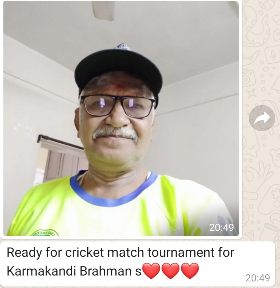 A daughter gets worried like a mom when her 71 years old dad sends this message 😀 @ajinkyarahane88 if you need a replacement in the 4th Test, Pandyaji is ready to fly!! #daddycool #INDvsAUS @BCCI @imVkohli @hardikpandya7 @bhogleharsha @virendersehwag