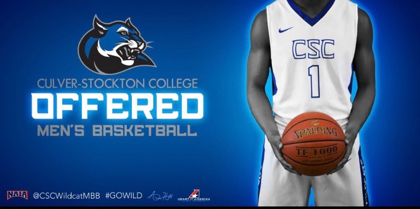 Blessed to receive a offer from Culver-Stockton! 💙 @CSCWildcatsMBB @CoachAaron_Hill
