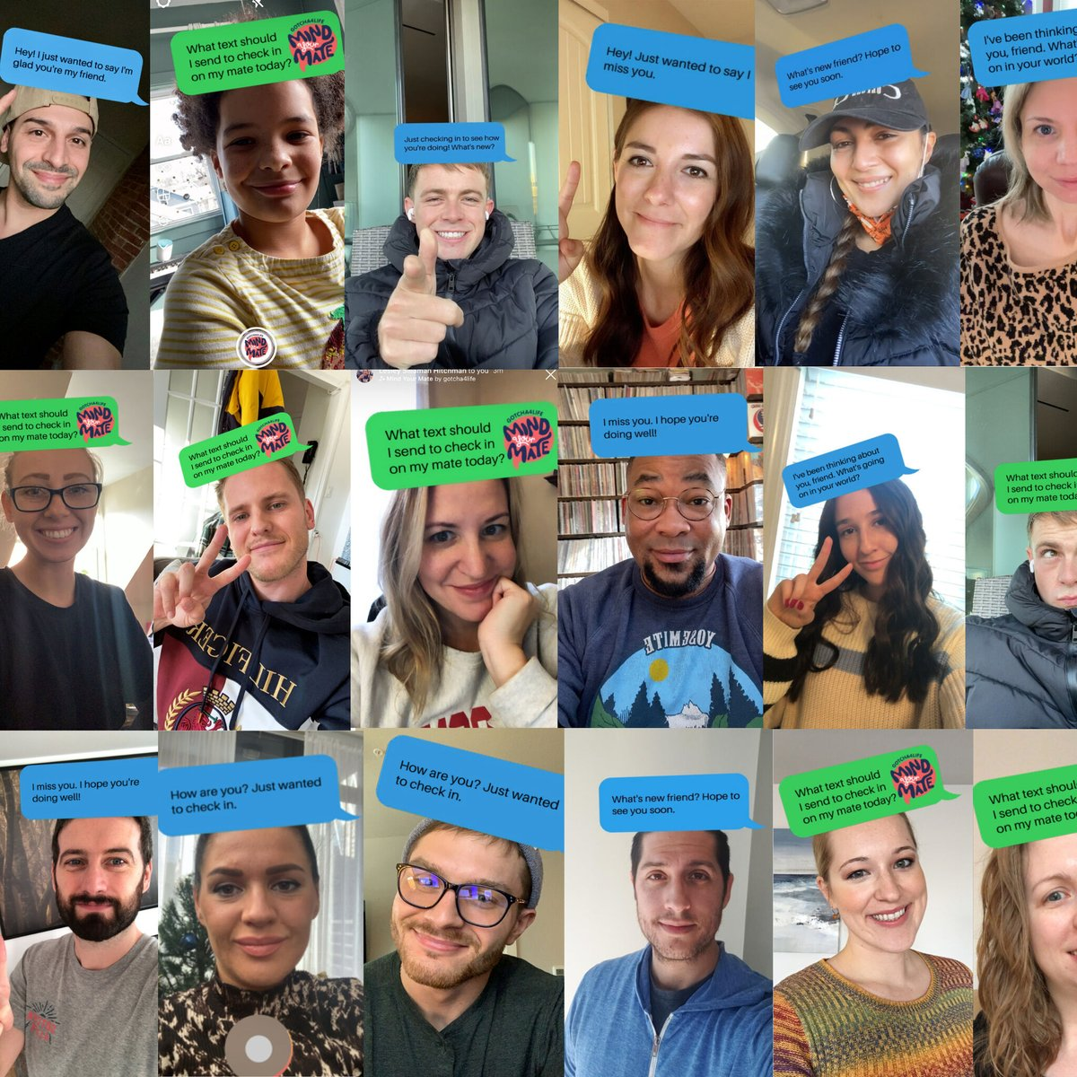 Have you taken the #MindYourMate challenge yet? We encourage you to:   🤳 Head over to our IG filter (@gotcha4life) 💌 Use it to find out what message you should send 👋 Send it to a mate you haven't checked in on in a while ☺️ Share a selfie of you using the filter with us on IG