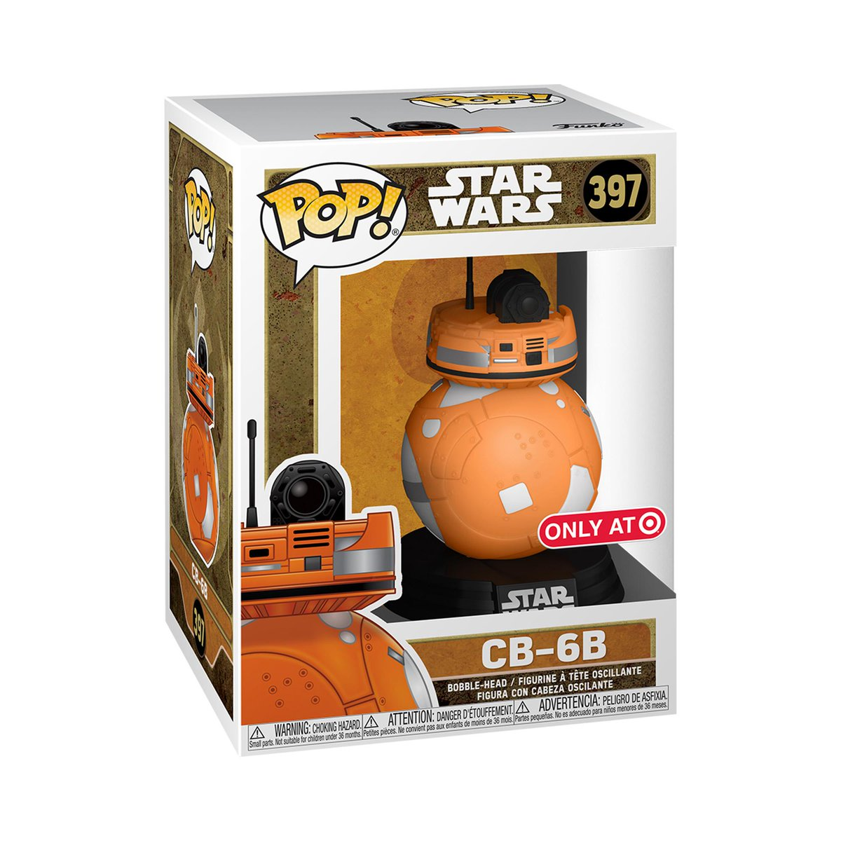 RT & follow @OriginalFunko for the chance to WIN this @Target exclusive CB-6B Pop! #Funko #Funkogiveaway #StarWars