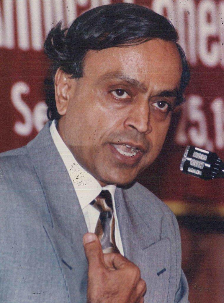 Remembering Murlibhai on his 84th birth anniversary:  Mumbai Corporator & Mayor Maharashtra MLC 7-term Member of Parliament President, @PGAction  Vice-Chairman, @ICRC  Union Minister Vice President, Bharatiya Vidya Bhavan Philanthropist Loving father & friend