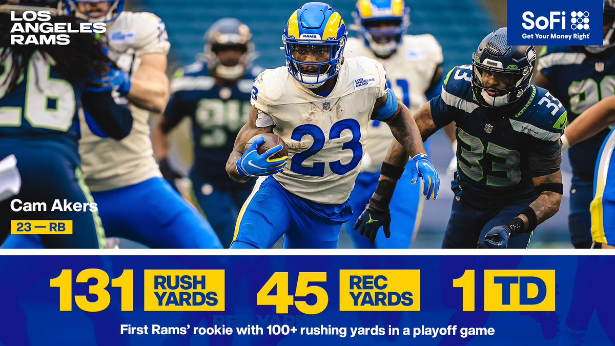 Replying to @RamsNFL: What a performance from @thereal_cam3! 👏