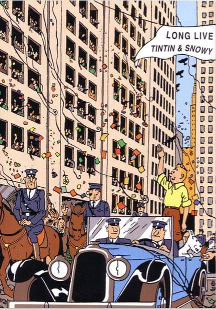 91 years of Tintin.