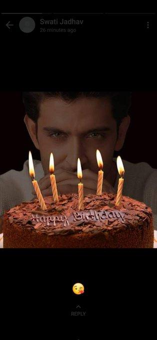 Happy birthday My cutest Hrithik Roshan
