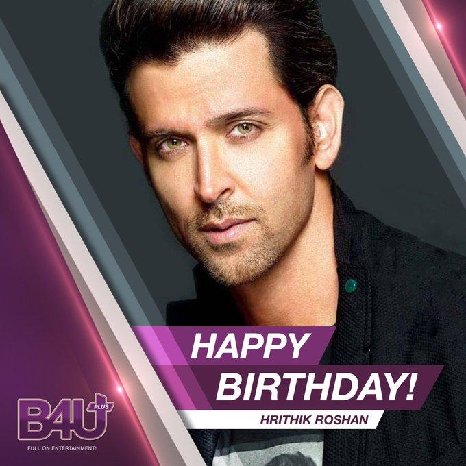 Here\s wishing Hrithik Roshan  a very happy birthday  . .