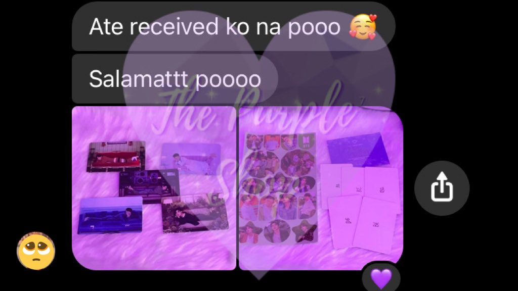 Naka uwi na sila 😭💜 Thank you so much pooo! 🥺💜  #PURPLEgo #PURPLupdates #BTS #BTSARMY