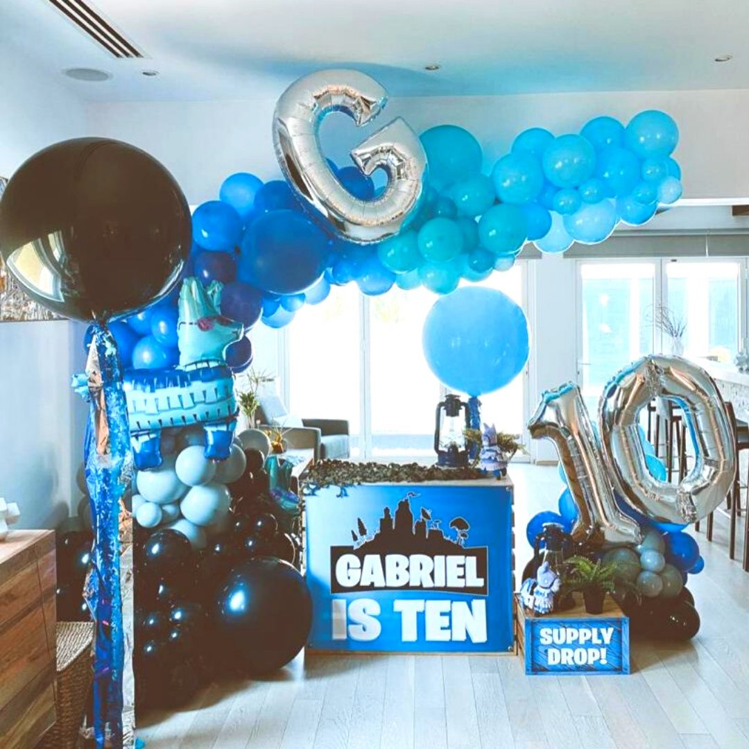 Pump up the color and festivity at your next soiree with our balloons to add a wow factor to your party!  #birthday #celebratebirthday #celebrationideas #balloondecoration #balloonart