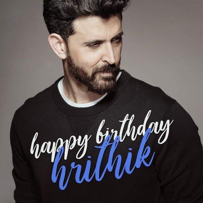 wish you a Happy Birthday Hrithik Roshan....