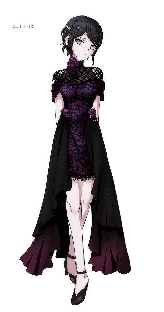 残姉のドレス姿がない!??! ないなら描くんだよーーーーー!!!!!!!! #ダンガンロンパ
