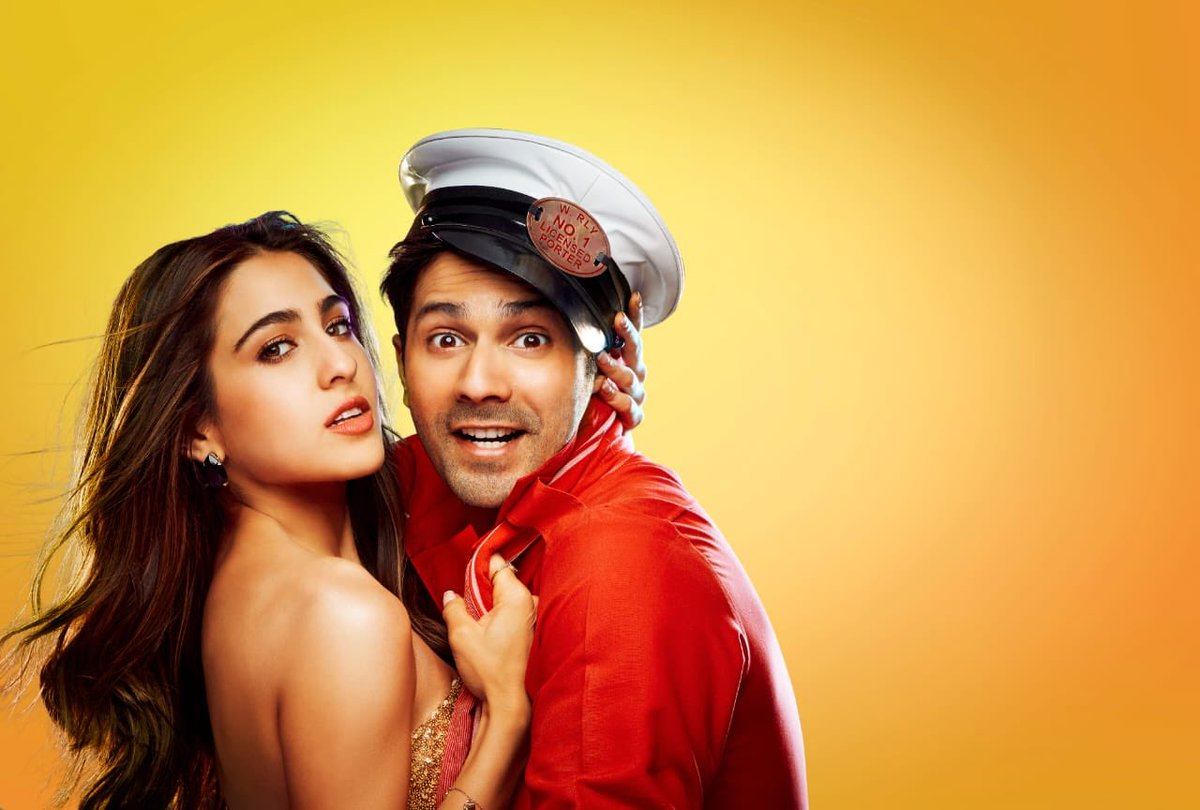#CoolieNo1 continue to ruling at Number 1 On The Ormax  Top 10  OTT Originals Of The Week 🔥  #VarunDhawan #SaraAliKhan #CoolieNo1OnPrime  @Varun_dvn