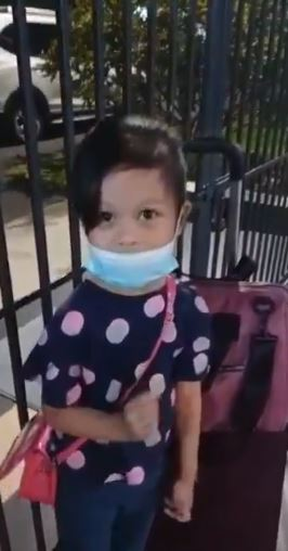 Bocah 5 tahun asal Malaysia dinyatakan positif Covid-19 tanpa gejala. (Twitter Tv Alhijrah / Ira Hazwani)