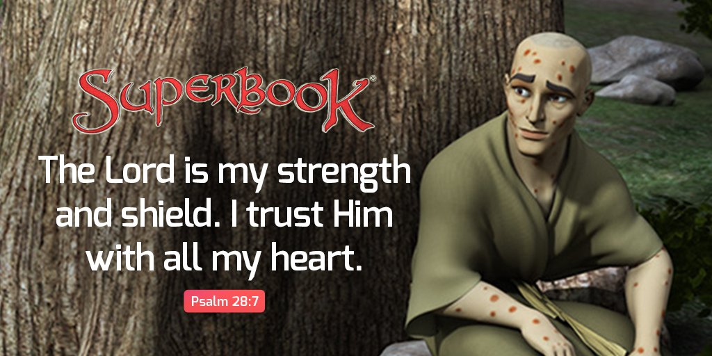 Replying to @SuperbookTV: When you're feeling down, trust in God! 👍😀