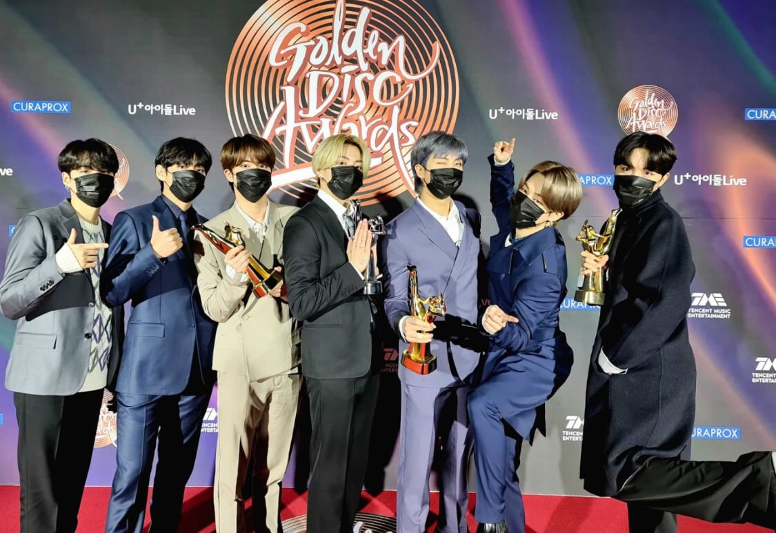 The boys at the #GDA2021 #CONGRATULATIONS #bts  #포토월_촬영의_순간