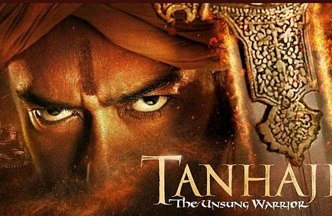 One of the rare actors in India who can act with eyes. @ajaydevgn  1 YEAR OF HISTORIC TANHAJI
