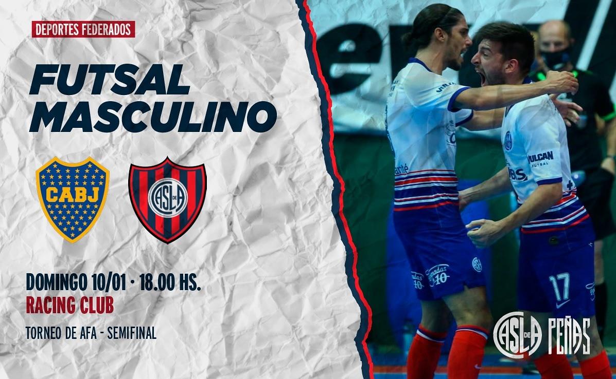 ⚽️ El Futsal Masculino enfrenta a Boca por la Semifinal del Torneo de AFA  📌 Racing Club 📅 10/01 ⏰ 18: 00 Hs 📺    #MasQue90Minutos 💙❤ #SLFederal 🇦🇷 #DeBoedoAlMundo ✈️🌍 #DeportesFederados
