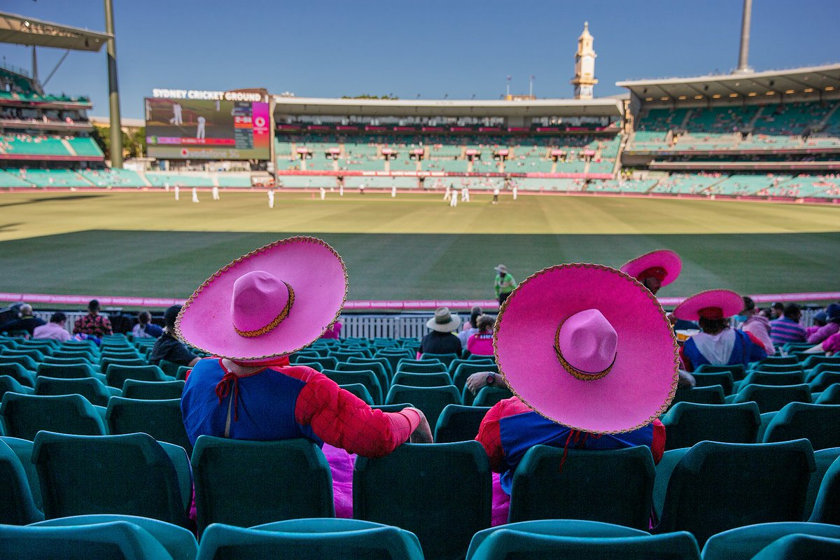 A reminder, tickets to Day 5 of the New Year's Test are available via redemption from @Ticketek_AU.   🎫   #LoveOurSCG #AUSvIND @McGrathFdn