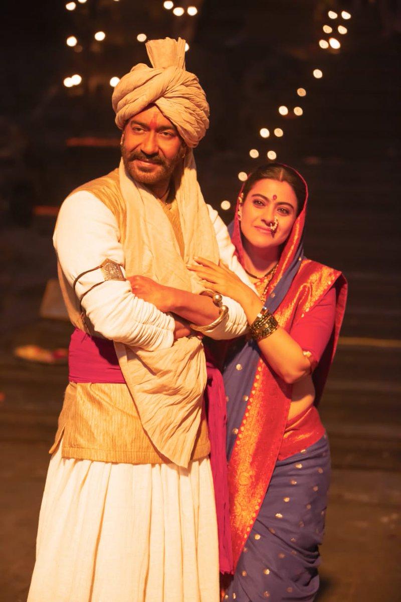 Jai Bhawani, Jai Shivaji🙏🚩 #1YearOfTanhaji #BhushanKumar @TSeries @itsKajolD #SaifAliKhan @SharadK7 @omraut @KumarMangat @Meena_Iyer #VikrantSharma #DharmendraSharma @NYvfxwala @AAFilmsIndia @AjayDevgnFilms