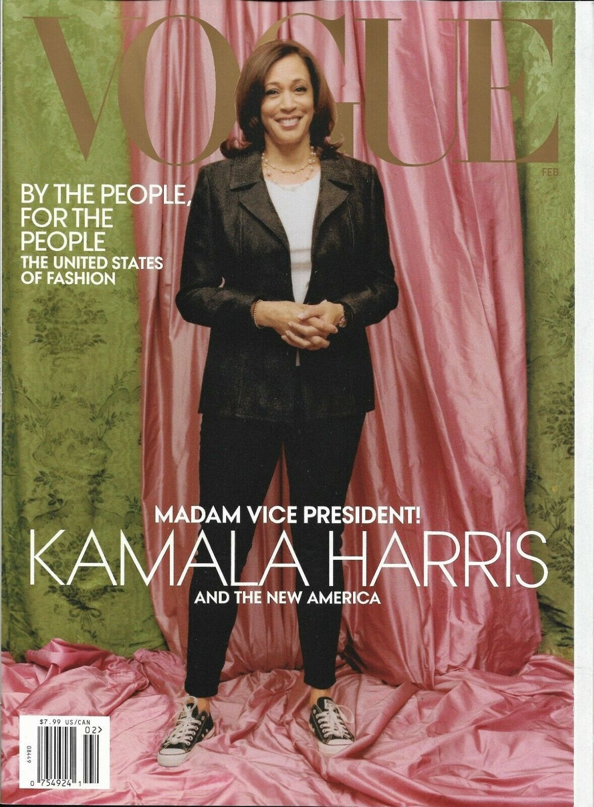 Vogue's Kamala Harris cover sparks social media frenzy: 'What a mess up'