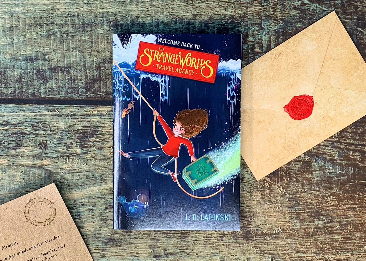 Ahoy there, mateys! @HachetteKids are giving you the chance to win a proof copy of The Strangeworlds Travel Agency: The Edge of the Ocean! Just RT this, Follow me, and reply with the best pirate gif in the seven seas! Ts&Cs below. Set sail for another magical adventure! 🌊🧳🌊