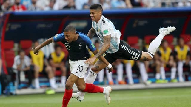 JOGOS HISTÓRICOS  França 4 x 3 Argentina  Oitavas de final da Copa do Mundo 2018 #França #Argentina #CopaDoMundo
