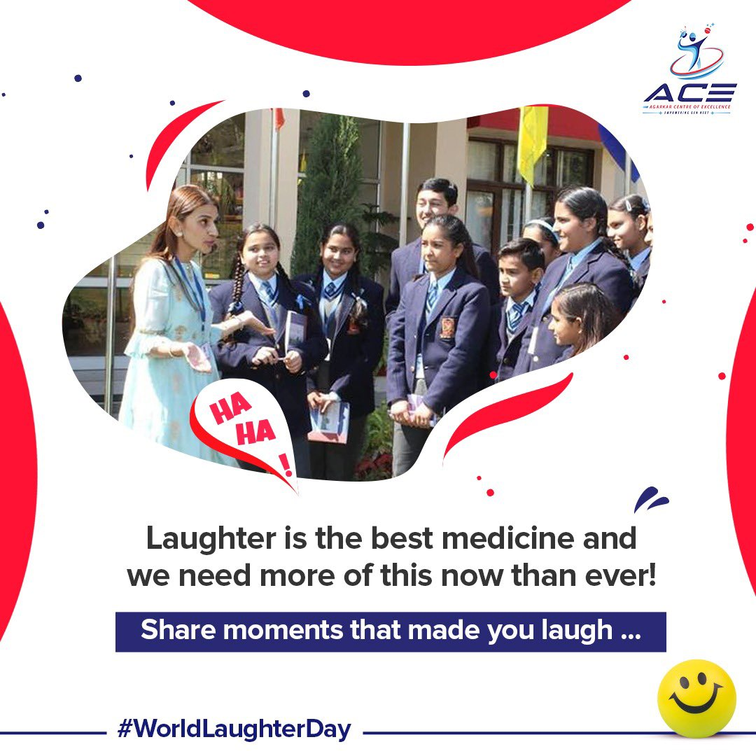 Today on #worldlaughterday, comment below the moments that you made you laugh, and be the reason for making someone laugh  #ace #acesportsedu #agarkarcentreofexcellence #worldlaughterday #laughter #laughteristhebestmedicine #memories #happymemories #funtimes #friends #weekendfun