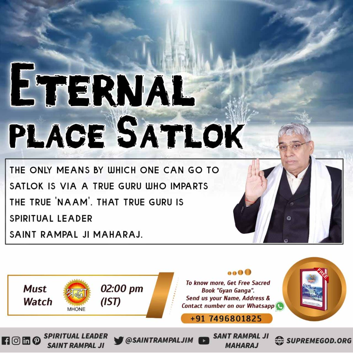 @spiritualtime #wednesdaythought EARTH This World is perishable and so are all the living beings here. Vs SATLOK Satlok In Eternal and so  are the living beings residing there. @SaintRampalJiM Visit Satlok Ashram YouTube Channel Eternal place Satlok