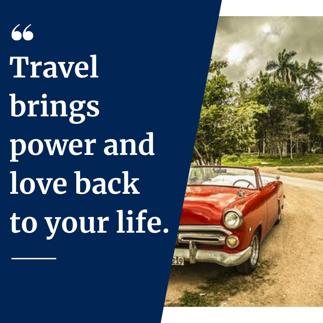 Travel brings power and love back to your life. - - - - - #rideshare #rideapp #quotes #lifequotes #qoutes #quoteoftheday #quites #quotesoftheday #quote #motivationalquotes #dailyquote #qoutesaboutlife #quotestagram #liketime #likeme #followforfollowback #vsco #vscocam #followers