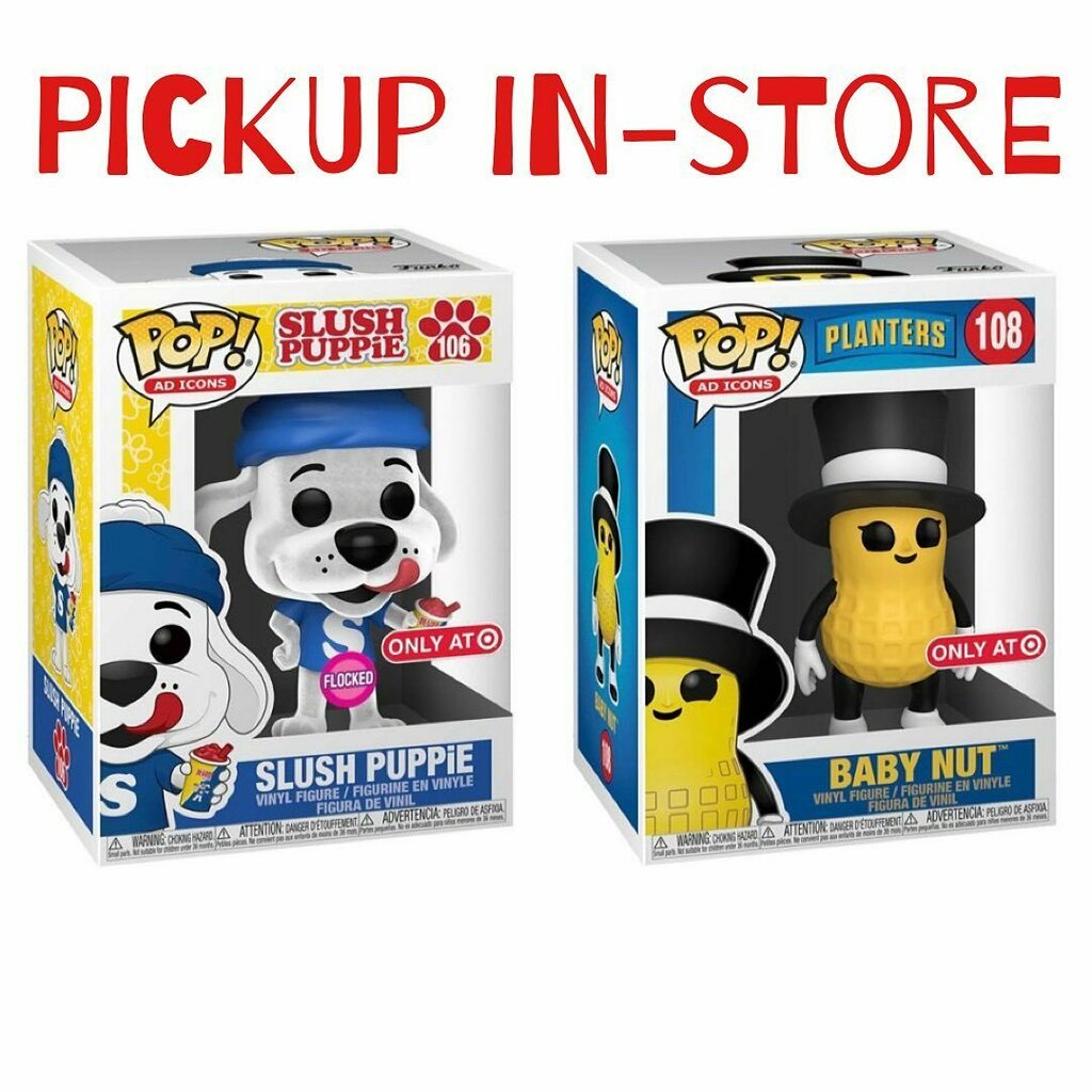 Target Exclusive Slush Puppie and Baby Nut are currently available online for Shipping and local Pickup in-store. While supplies last. . https://t.co/WGFcRqRecP . Link in bio! . . #funko #funkopop #adicons #slushpuppie #babynut #planters https://t.co/c6NOucD2Vg https://t.co/WvqHMqijTl