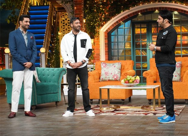 Had a great time to watched team     #TheBigBull 's star cast  @ajaydevgn @juniorbachchan  @nikifyinglife #SohumShah  on #TheKapilSharmaShow   Loved the ep, thoroughly enjoying the show @KapilSharmaK9 Sir