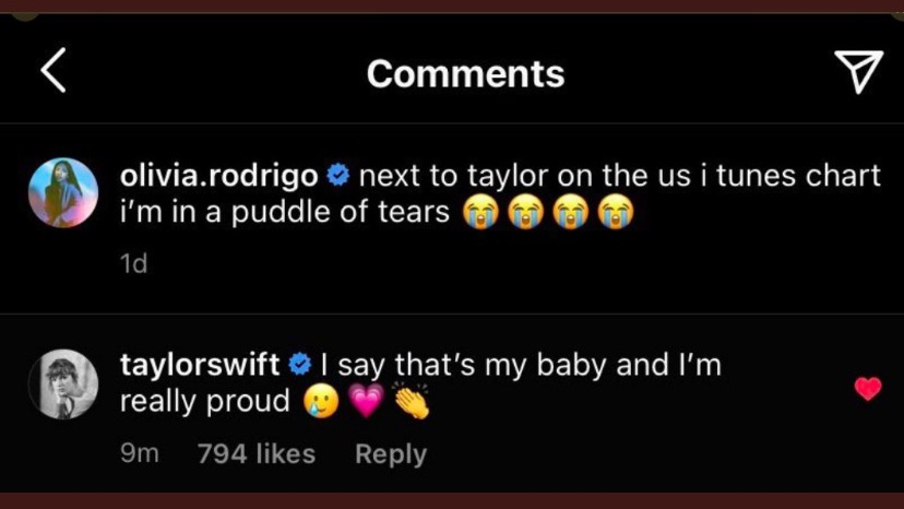 "thinking about legally changing my name to ""Taylor Swifts baby"""