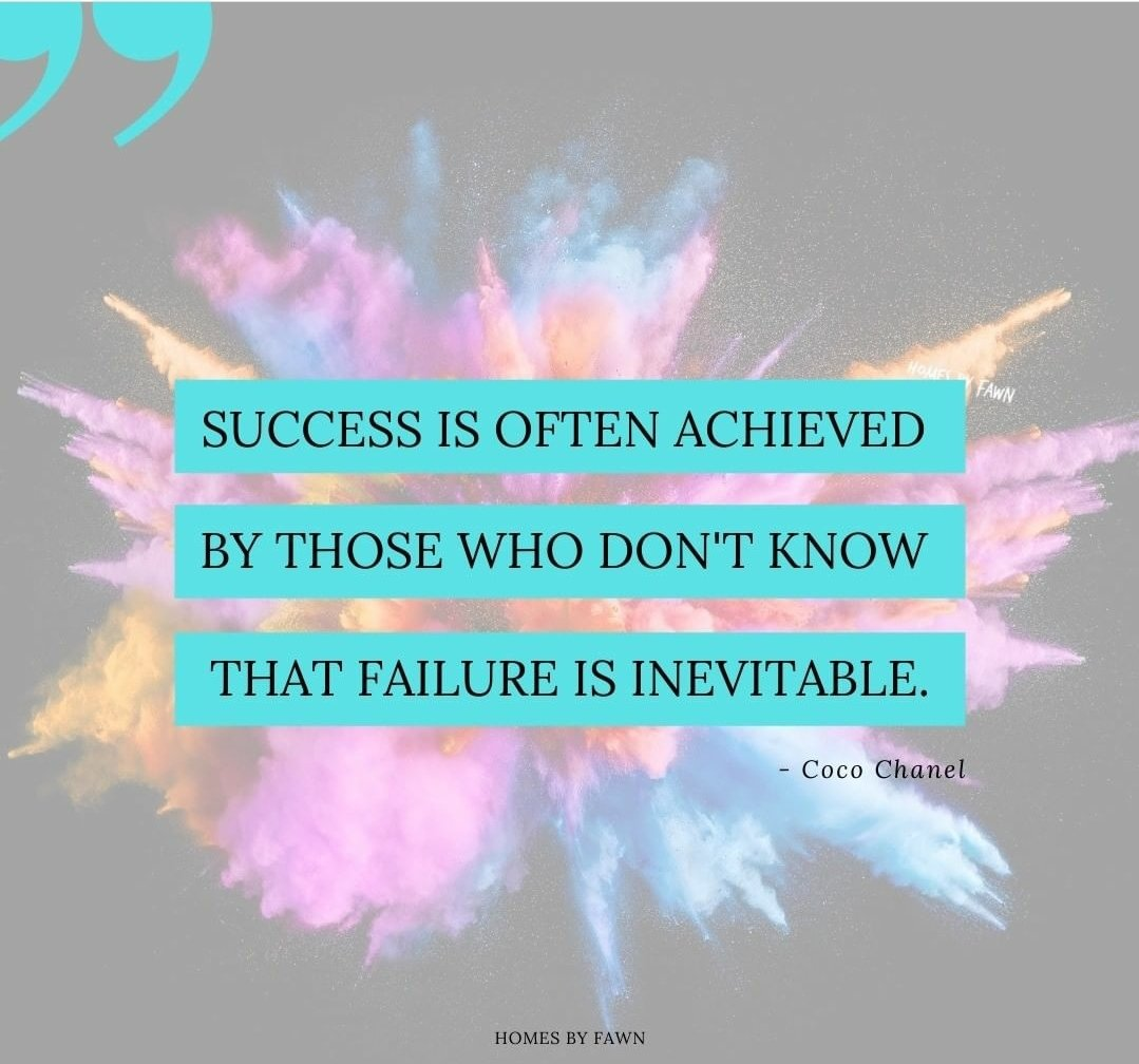 """""""Success is often achieved by those who don't know that failure is inevitable."""" - Coco Chanel . Fawn Bertram (RB) 📲 808-439-1077 Website:  Email: fawnbertram@hawaiilife.com #homebyfawn #SundayMorning #SundayThoughts #Oahu #Hawaii"""