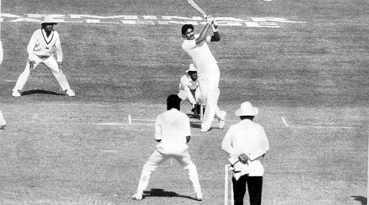 36th anniversary of 36 runs in 1 over! 👍👍  #OnThisDay in 1985, former India captain and present #TeamIndia Head Coach @RaviShastriOfc slammed 6 sixes in an over while playing for Mumbai. 💪👏  Image - Indian Express