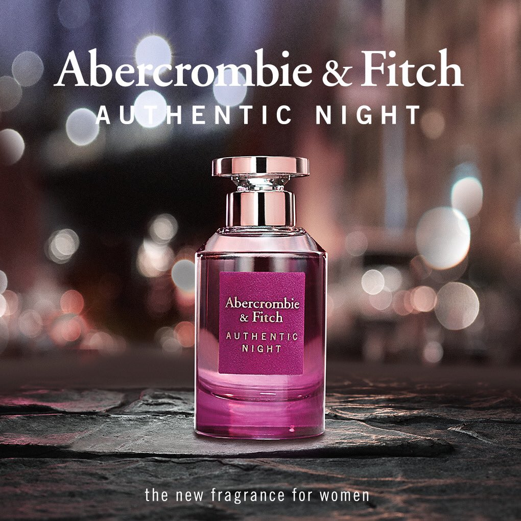 AUTHENTIC NIGHT for Women is for the woman who loves sharing life's real, raw and unexpected moments with friends.  Shop online at https://t.co/YPeSNInX5y #AbercrombieandFitch  #Authenticnight #fragrance #forher #perfumes #perfumelover #Jashanmal #Bahrain https://t.co/MK2vGs5uNd