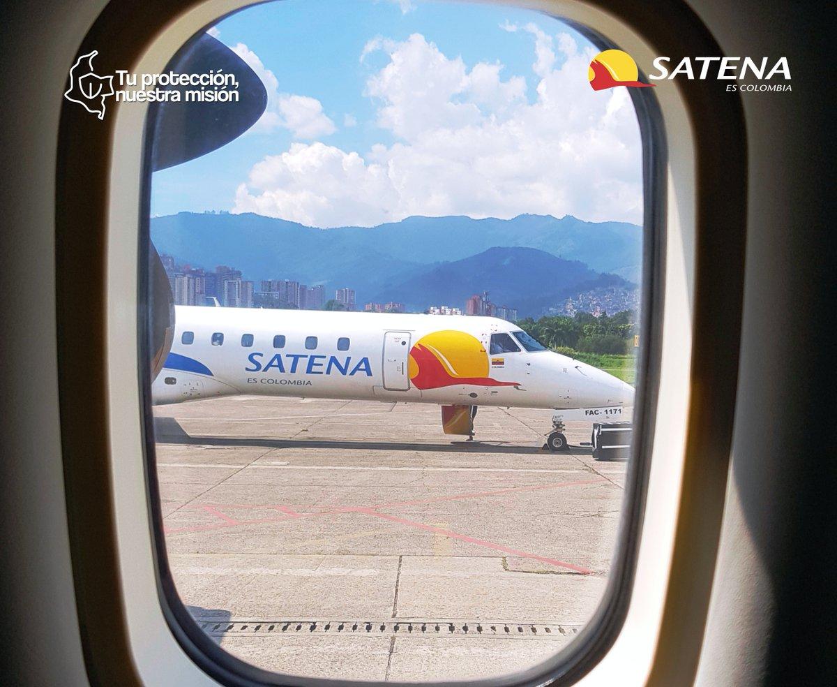 Un #FelizDomingo para todos nuestros usuarios desde ....!😍 A. @aerocali  B. @BOG_ELDORADO  C. @AeropuertoEOH  D. Aeropuerto Villavicencio Una pregunta para conocedores🤓 #EstamosVolandoPorTi✈️ #SATENAEsColombia🇨🇴