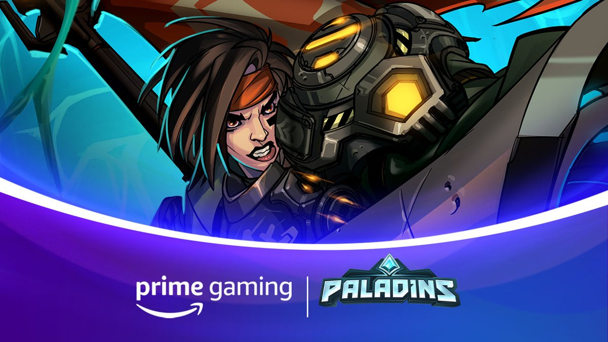 Attention all players: @PrimeGaming has the free loot for you! And its one of our toughest Frontline Champions in the Realm. Get Xeno-Buster Ash now by going here: gaming.amazon.com/loot/paladins